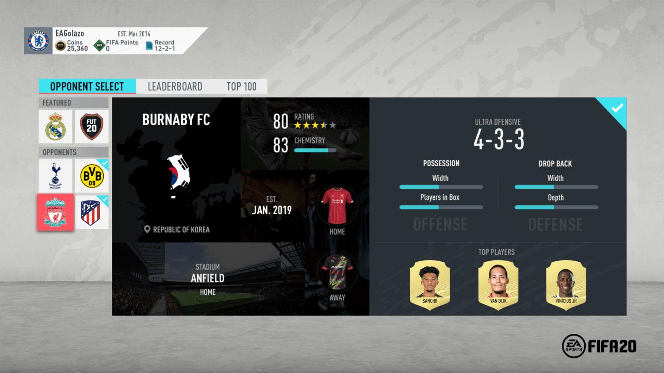 FIFA 20: tutte le novità della modalità FUT