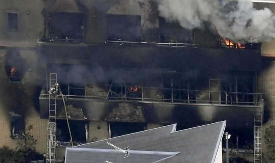 Kyoto Animation divorata da un incendio doloso