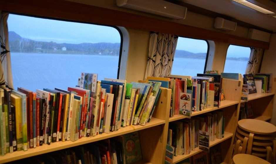 Libri: in Svezia e Norvegia li consegnano le Bokbåten