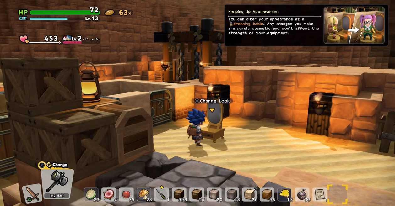 Dragon Quest Builders 2: come cambiare aspetto | Guida