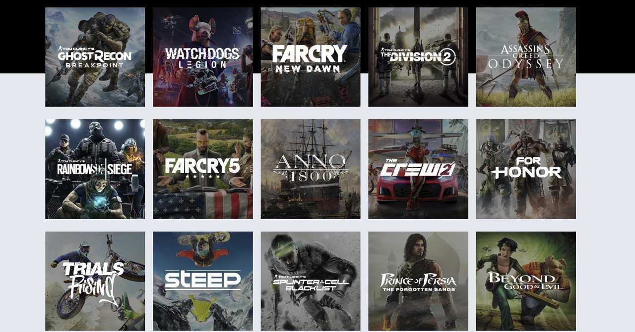 Uplay+: ecco la lista dei videogiochi disponibili all'uscita