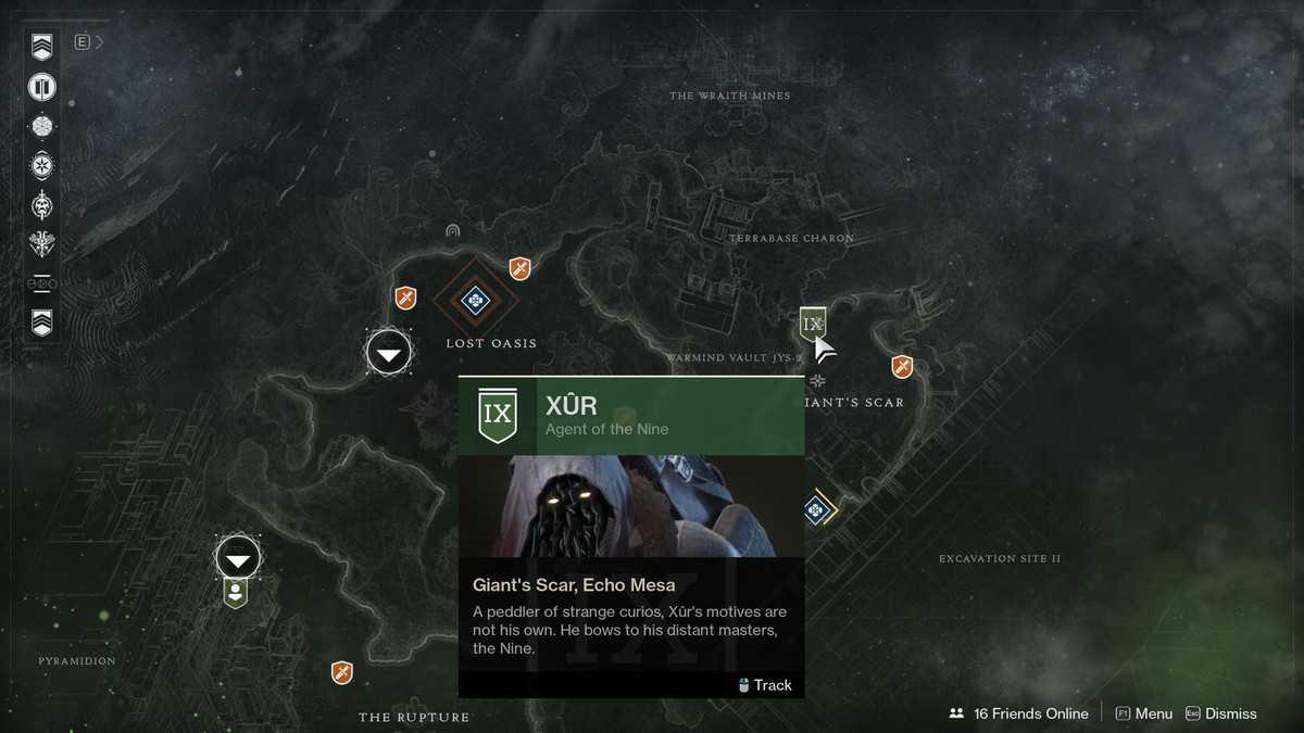 Destiny 2: oggetti in vendita da Xur dal 19 Luglio