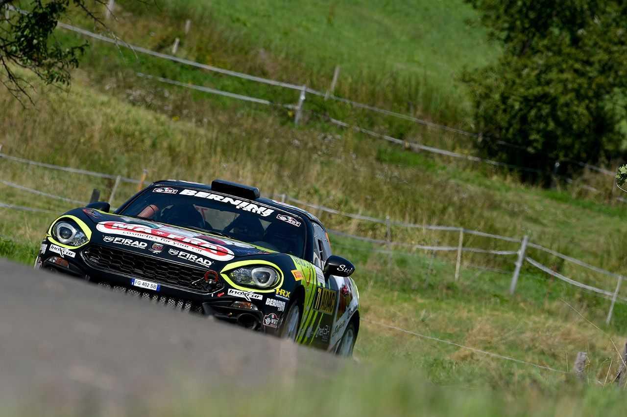 L'Abarth 124 rally conquista la FIA R-GT CUP