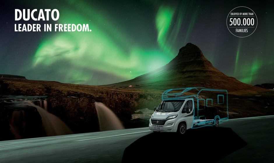 Fiat Professional al Caravan Salon di Düsseldorf 2019