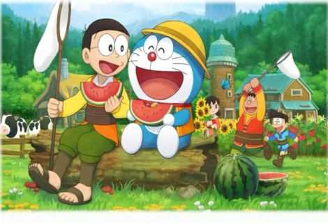 Doraemon Story of Seasons: in arrivo a ottobre!