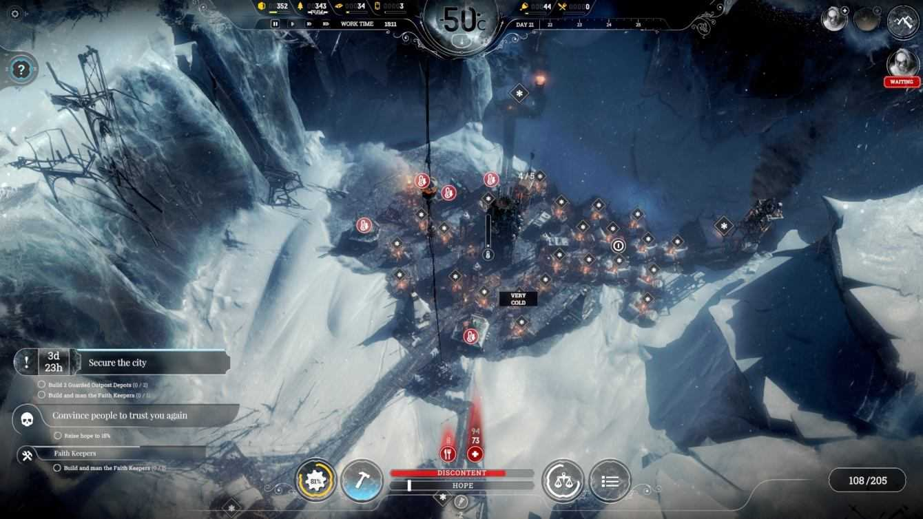 Frostpunk: ecco la data d'uscita su console