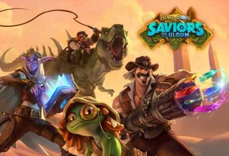 Hearthstone Salvatori di Uldum, ora disponibile