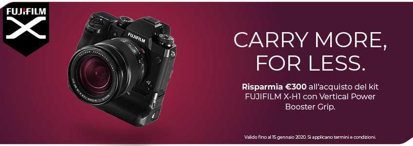 Fujifilm Instant Rebate X-H1, l'offerta che stupisce
