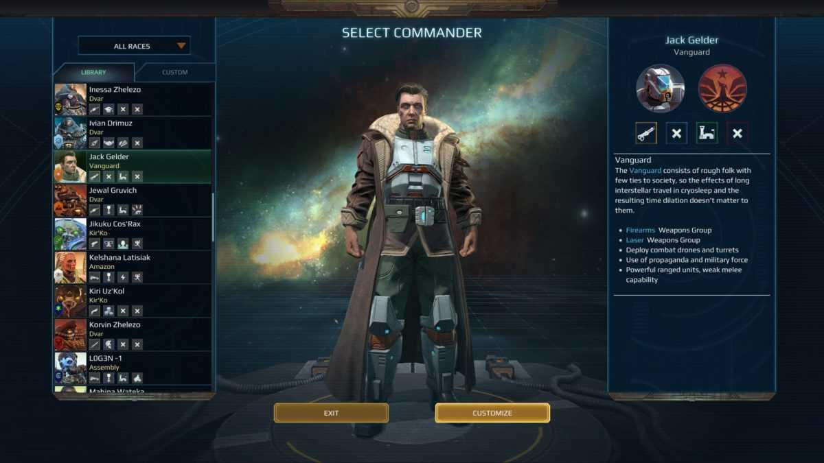 Age of Wonders Planetfall: guida alle Fazioni e Commander