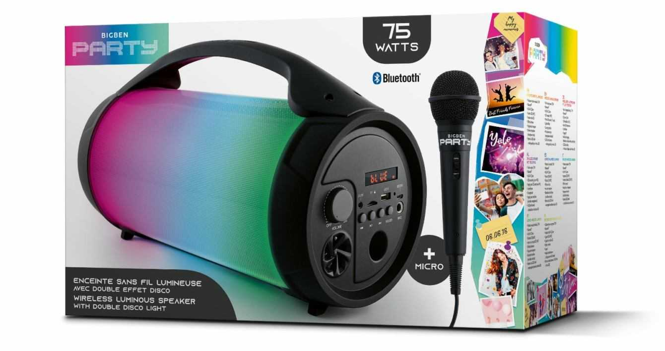 Bigben lancia gli Speaker Bluetooth della nuova Linea Party