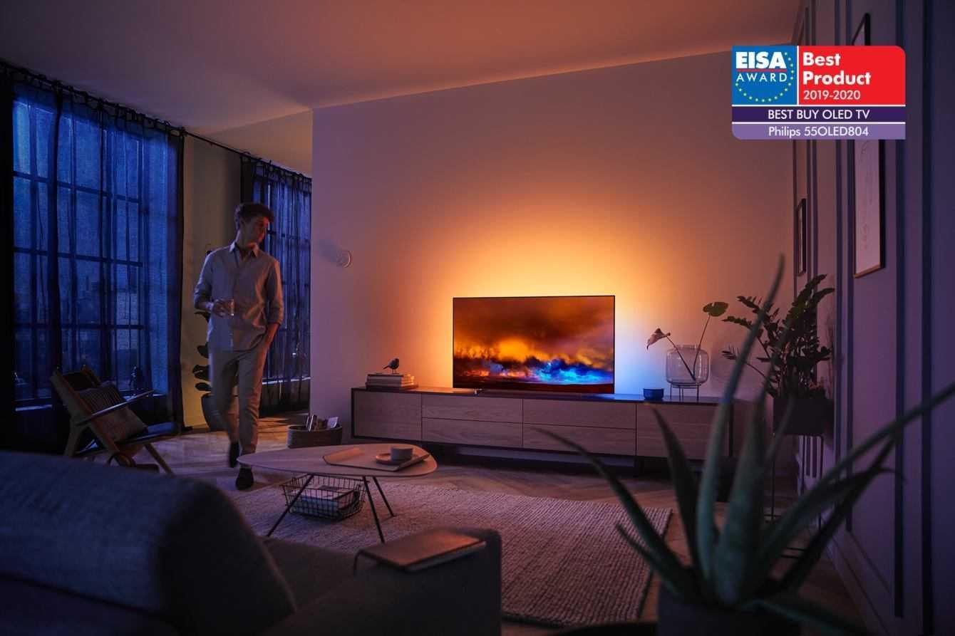 EISA celebra gli OLED di Philips TV per la terza volta