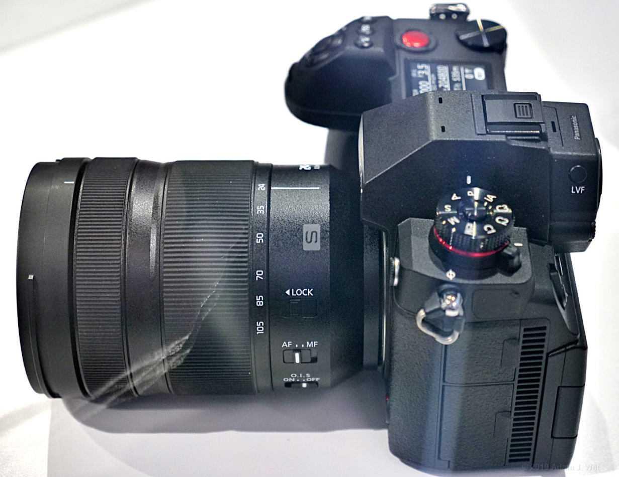 Panasonic Lumix S1H: specifiche ufficiali il 27 agosto