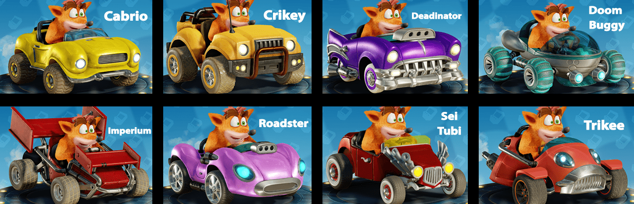 Crash Team Racing: Nitro-Fueled, come sbloccare tutti i telai!