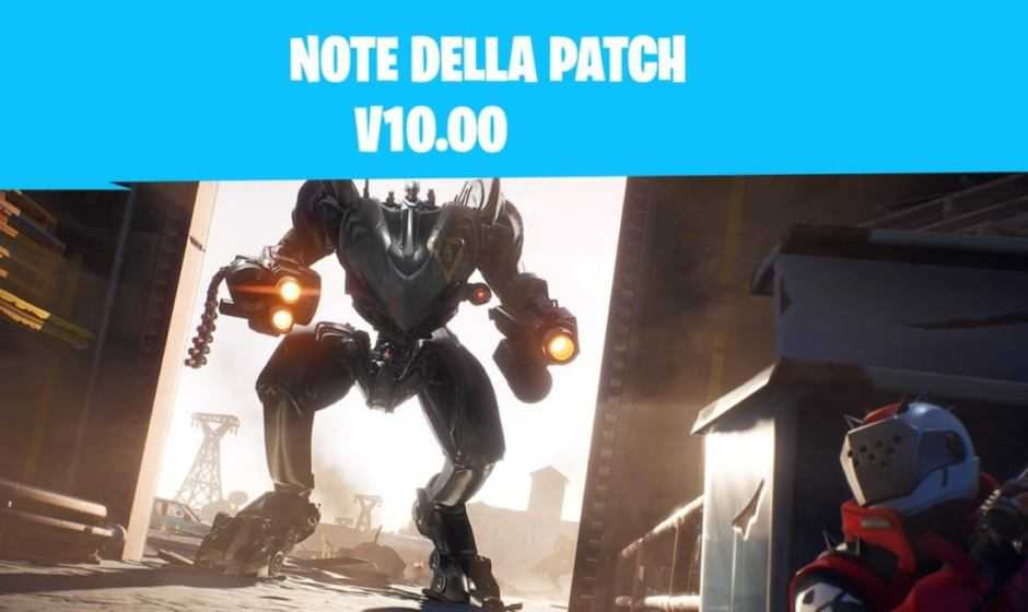 Fortnite: note della patch e la Stagione X | Patch 10.00
