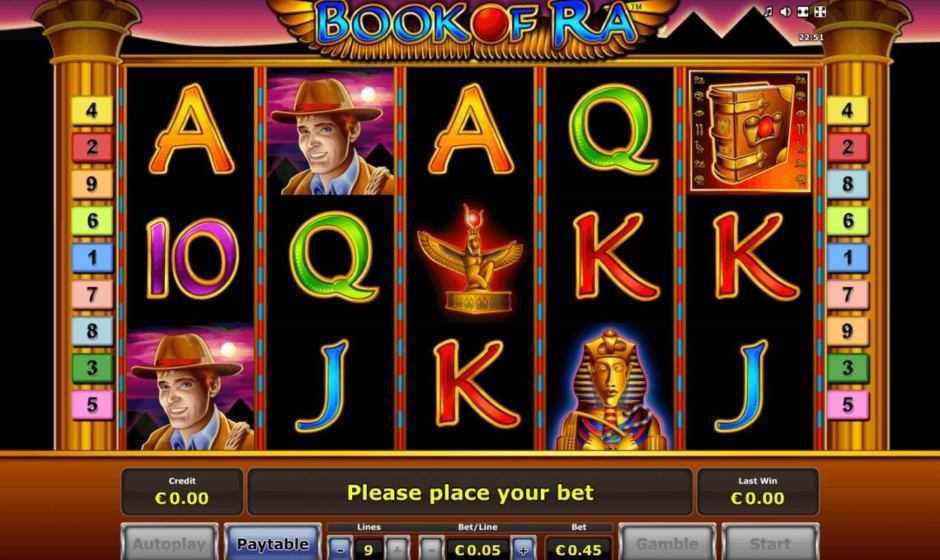 Book of Ra, la più generosa delle slot machine online