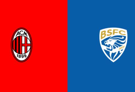 Milan-Brescia: ecco dove vedere la diretta in streaming e in tv