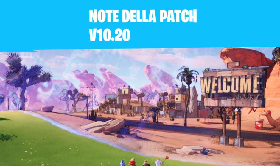 Fortnite: X Caos e novità nella modalità creativa   Patch 10.20