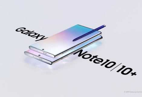 Samsung Galaxy Note 10 e Note 10 Plus: specifiche e prezzi
