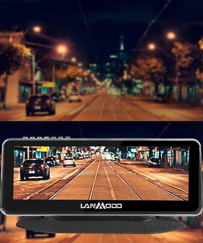 Lanmodo Vast: videocamera notturna FHD e a colori per auto