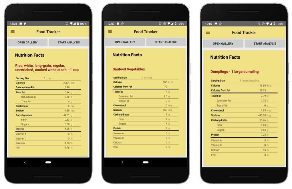 FoodTracker, lo Shazam del cibo: valori nutrizionali con una foto | Tecnologia