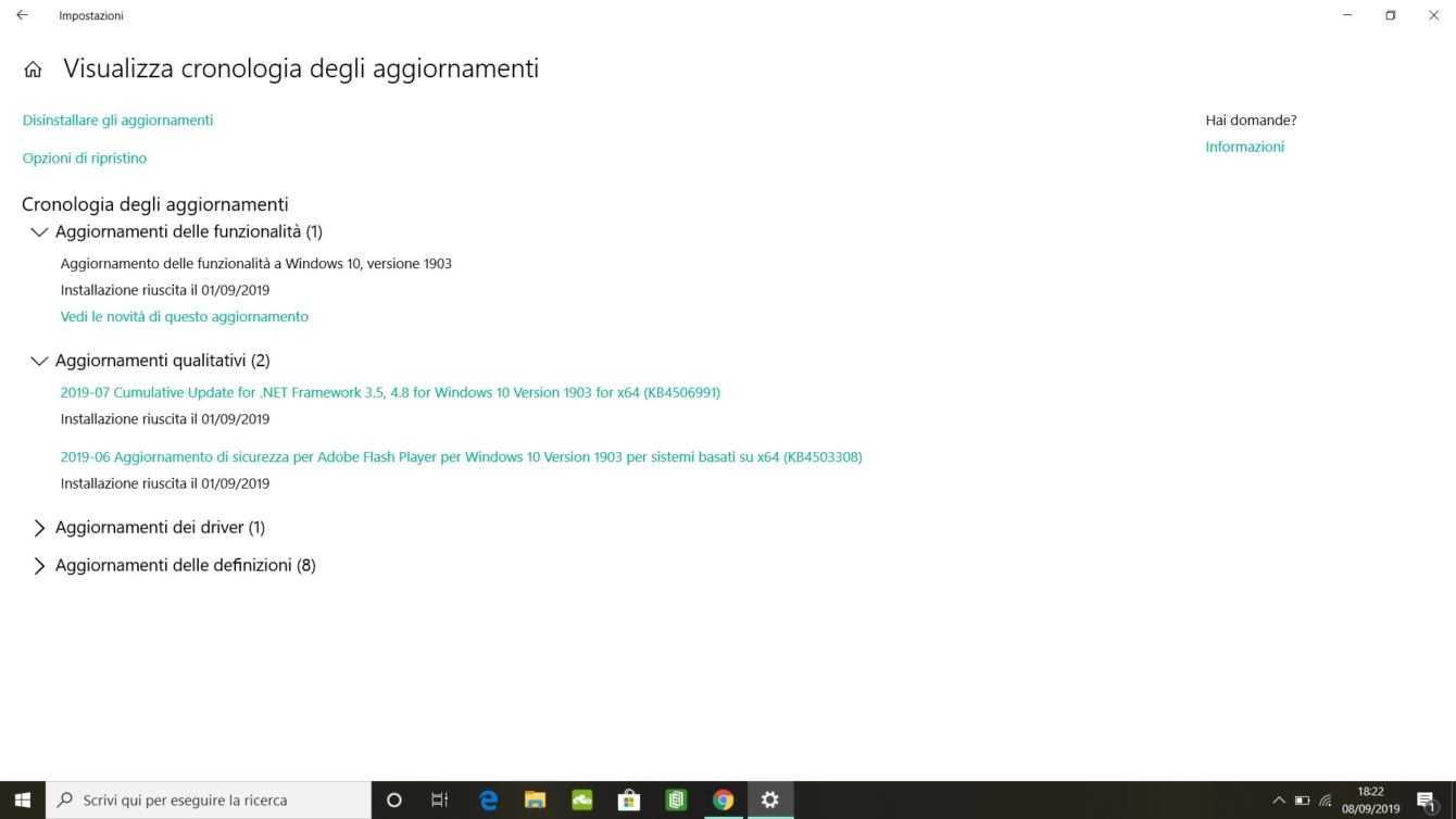 Come disinstallare aggiornamenti Windows 10 | Guida