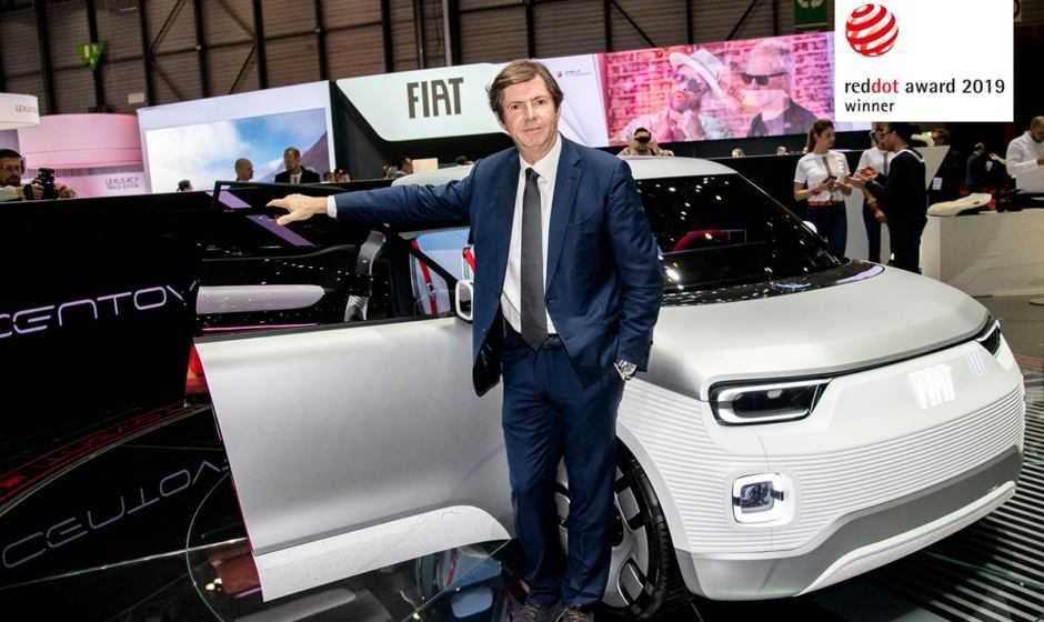 """Fiat Concept Centoventi vince il """"Red Dot Award 2019"""""""