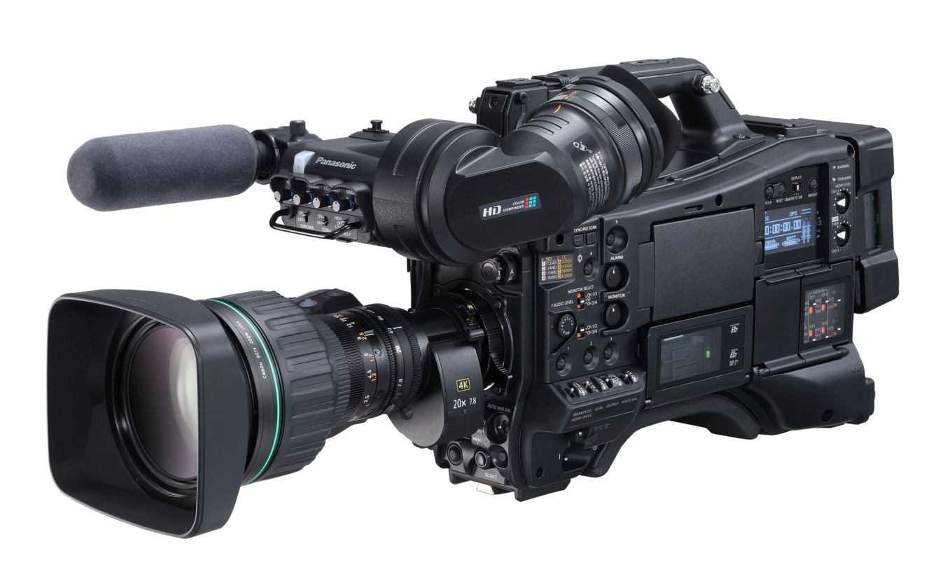 Panasonic: videocamera broadcast a spalla AJ-CX4000GJ