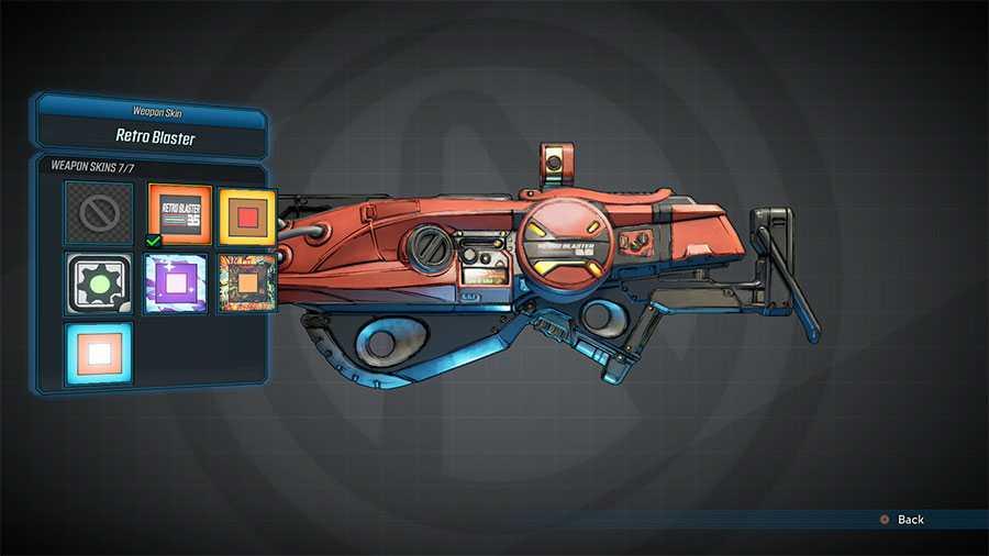 Borderlands 3: come trovare ed applicare le skin alle armi