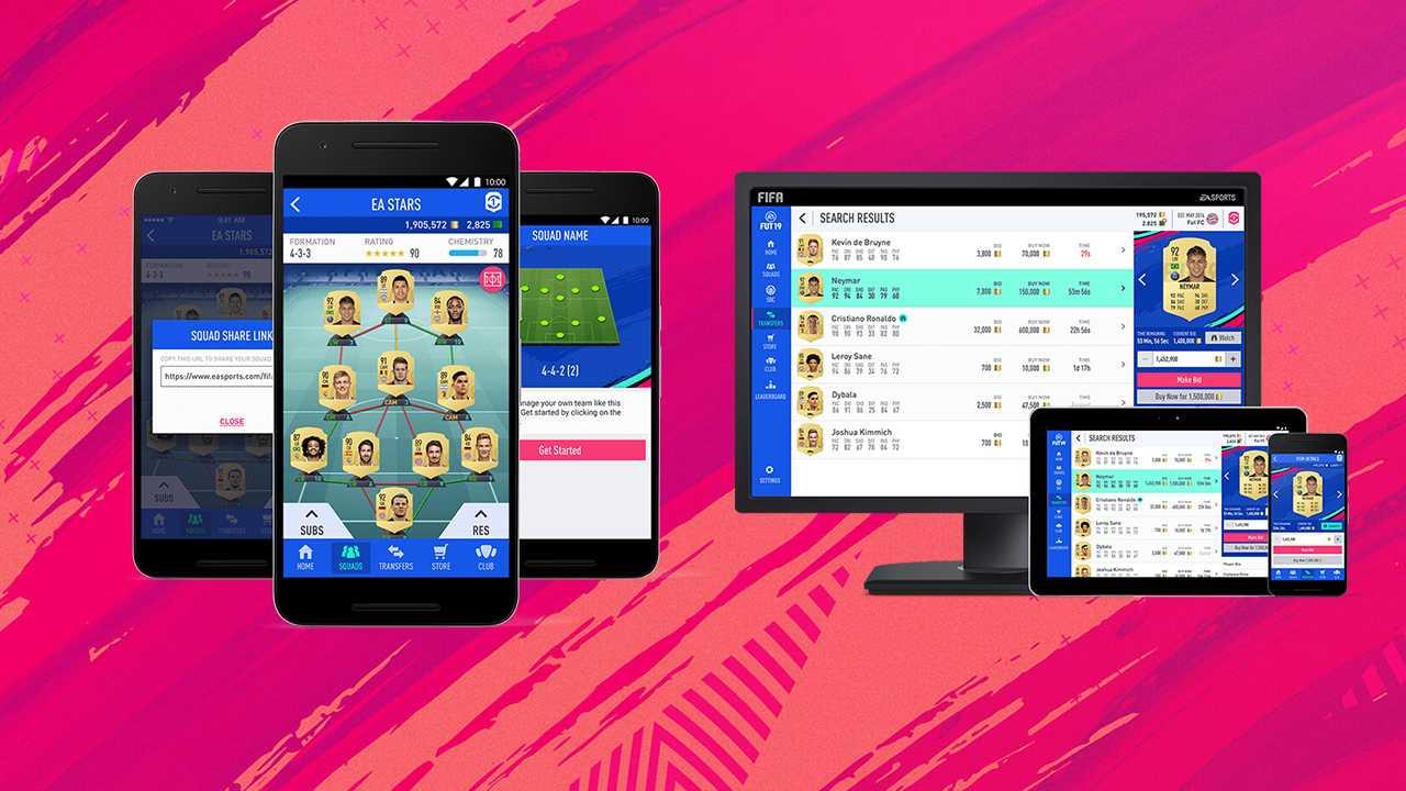 FIFA 20 Ultimate Team: disponibile la companion app