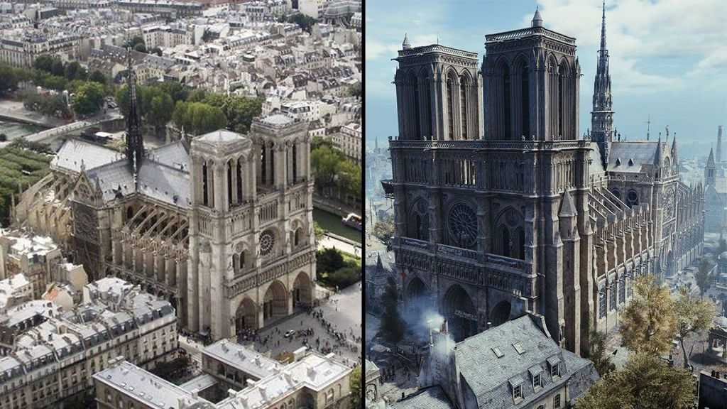 Visita Notre-Dame de Paris con Ubisoft