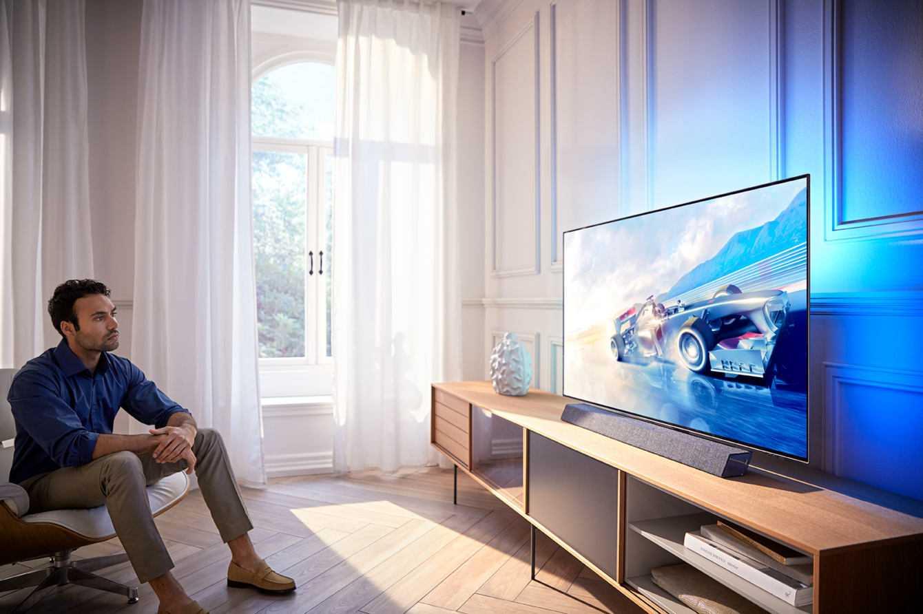 """TV OLED Philips 2019 a livelli mai raggiunti con """"P5"""""""