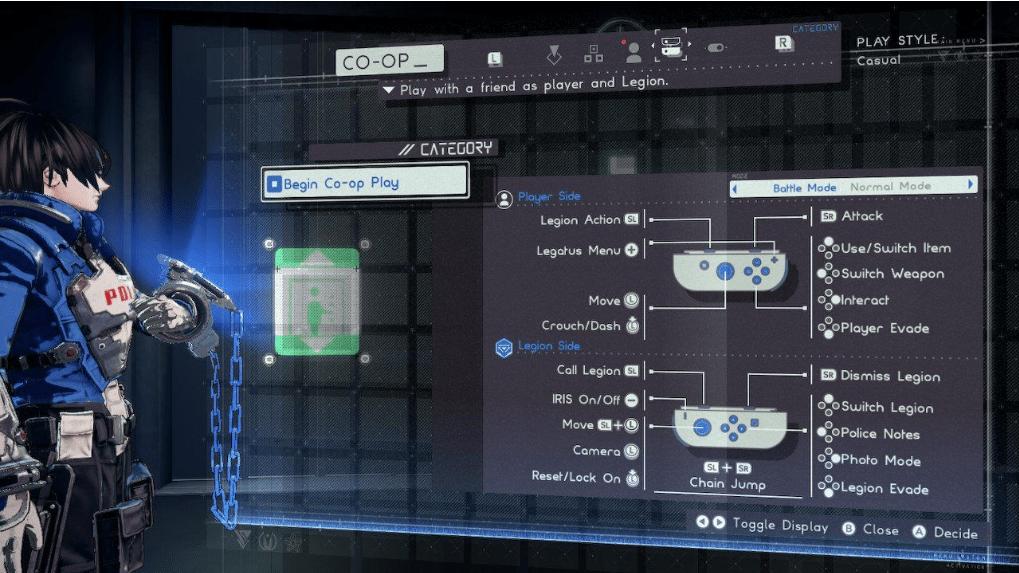 Astral Chain: come giocare in Co-op con un amico