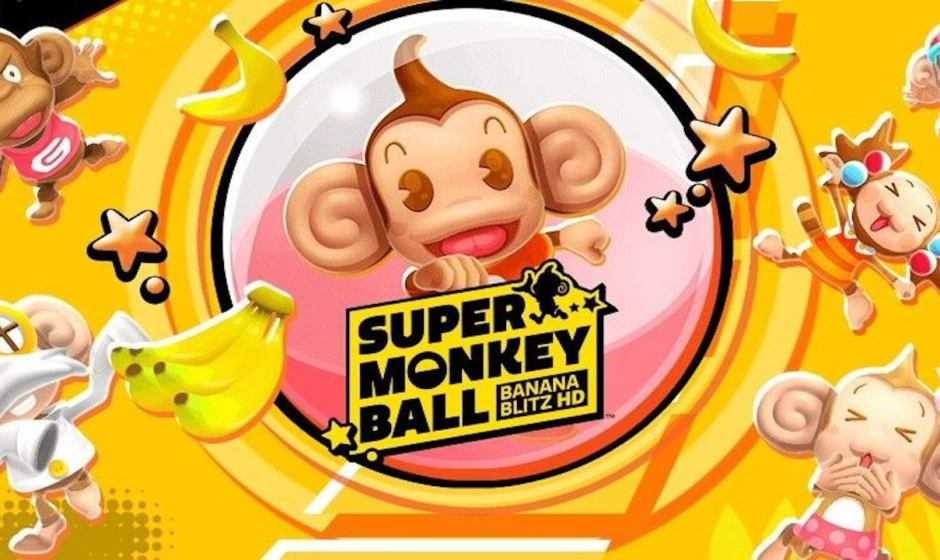 Super Monkey Ball: Banana Blitz HD è finalmente disponibile
