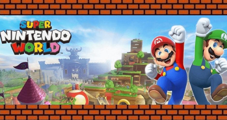 Super Nintendo World Park: parchi a tema in arrivo in tutto il mondo!