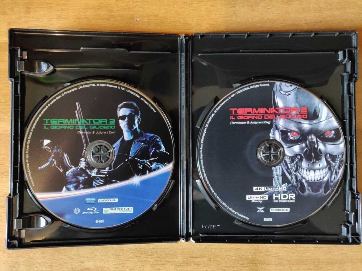 Recensione Terminator 2 edizione 4K HDR + Blu-ray