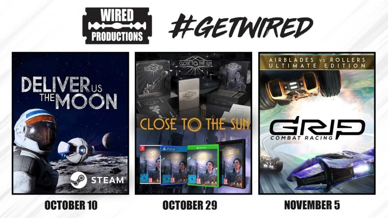 Wired Productions ulteriori dettagli su tre titoli in arrivo