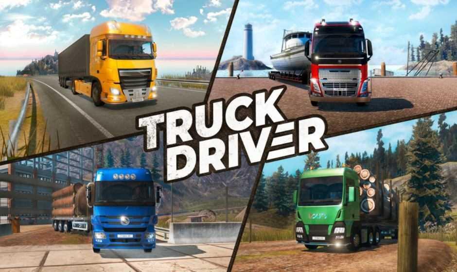 Arriva il nuovo trailer di lancio di Truck Driver