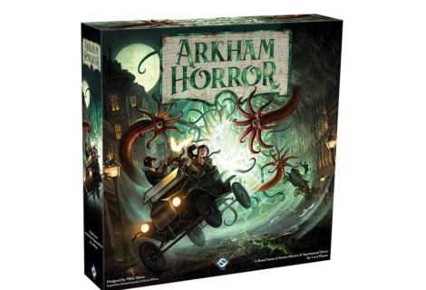 Arkham Horror: aperto il pre-ordine della Terza Edizione