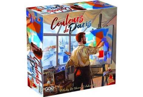 Recensione Couleurs de Paris: il Gioco da Tavolo per artisti