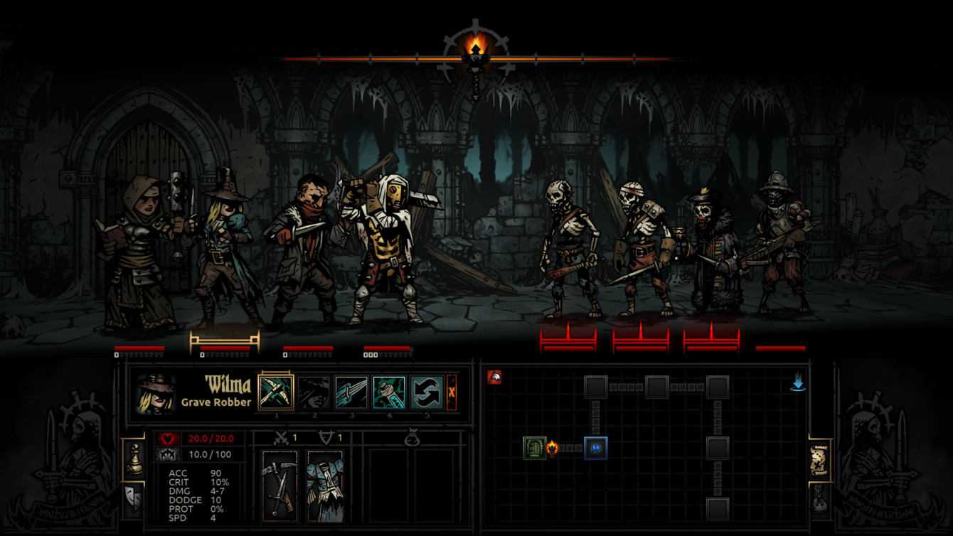 Recensione Darkest Dungeon: discesa nella follia