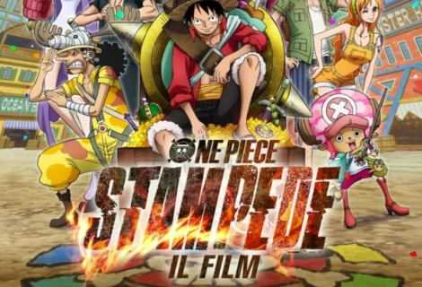 One Piece: Stampede, anteprima in lingua originale nei cinema The Space