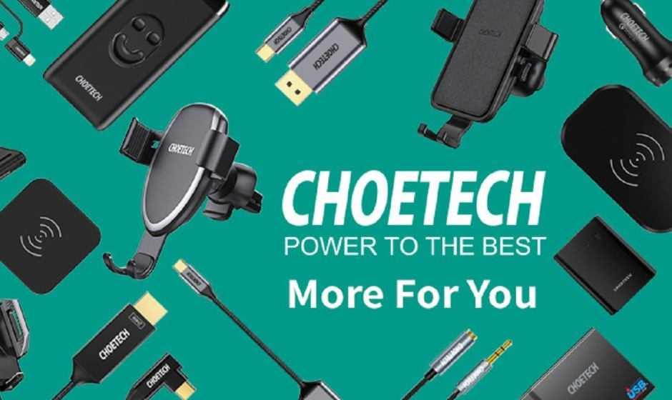 Choetech: esclusivi codici sconto per caricatori wireless e LED a energia solare