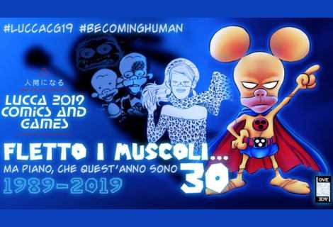 Leo Ortolani al Lucca Comics per i 30 anni di Rat-Man
