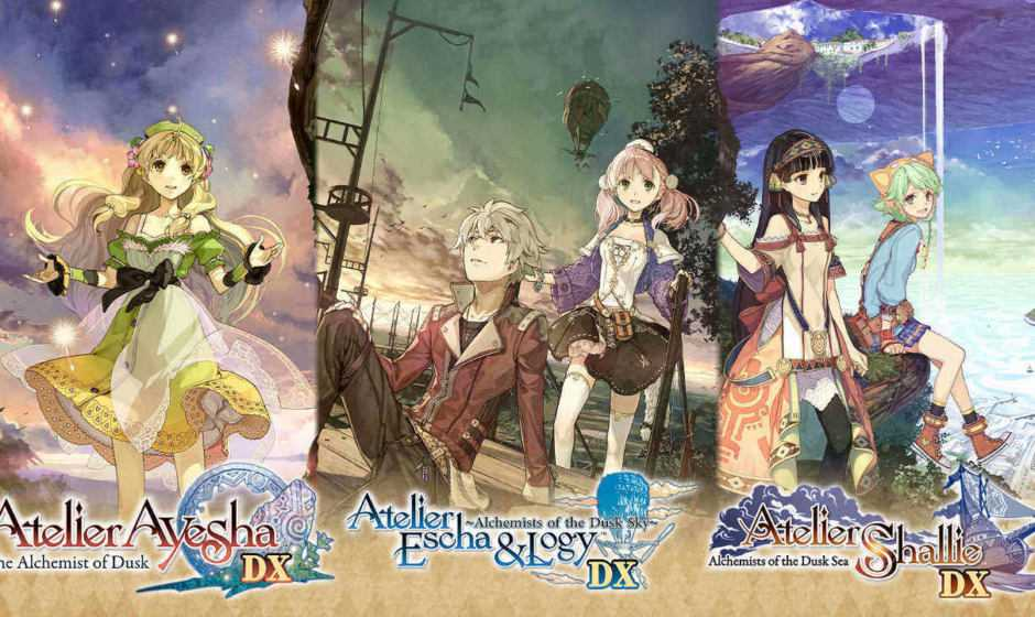 Atelier Dusk Trilogy Deluxe Pack: svelata la data d'uscita