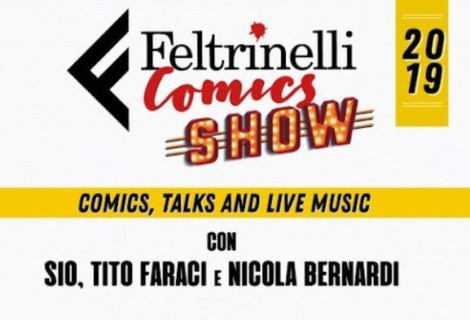 Lo spettacolo di Feltrinelli al Lucca Comics & Games