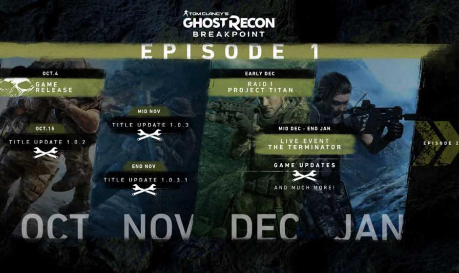 Ghost Recon Breakpoint: ecco gli aggiornamenti in arrivo per sistemarlo