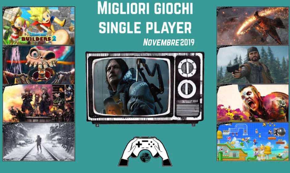 Migliori giochi single player | Dicembre 2019
