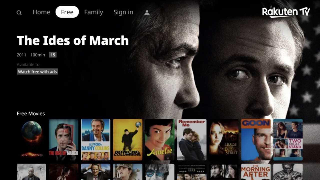 Rakuten TV: in arrivo una sezione dedicata ai film gratuiti