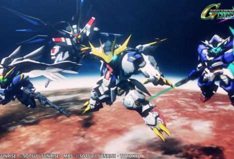 SD Gundam G Generation Cross Rays è stato annunciato