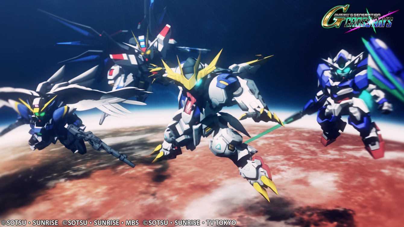 SD Gundam G Generation Cross Rays è disponibile da oggi